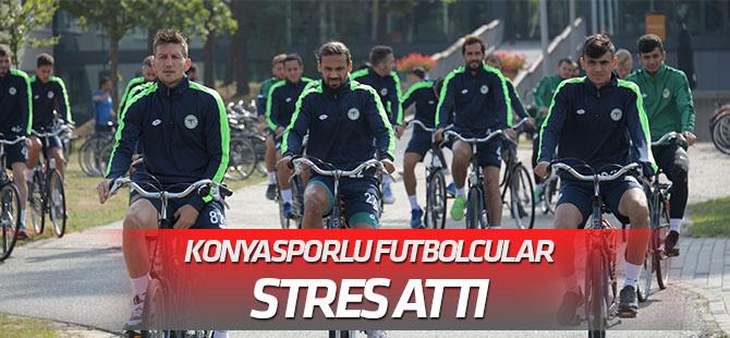 Konyaspor, bisikletle stres arttı