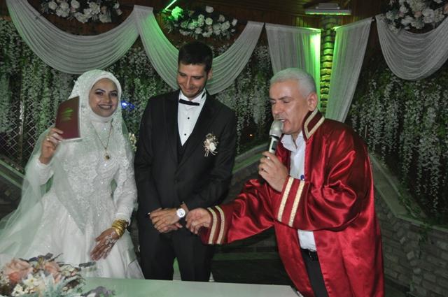 Özge ile Ufuk evlendiler