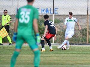 Bursaspor Akşehir'de oynadı