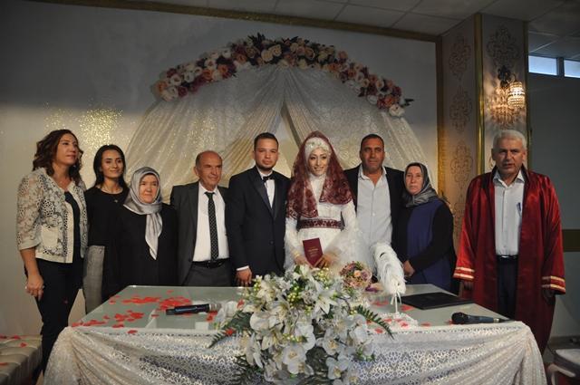 Şerife ile Mehmet evlendiler