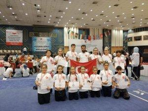 Selçuklu Belediyespor  Wushu kung-fu Balkan Şampiyonasına damga vurdu