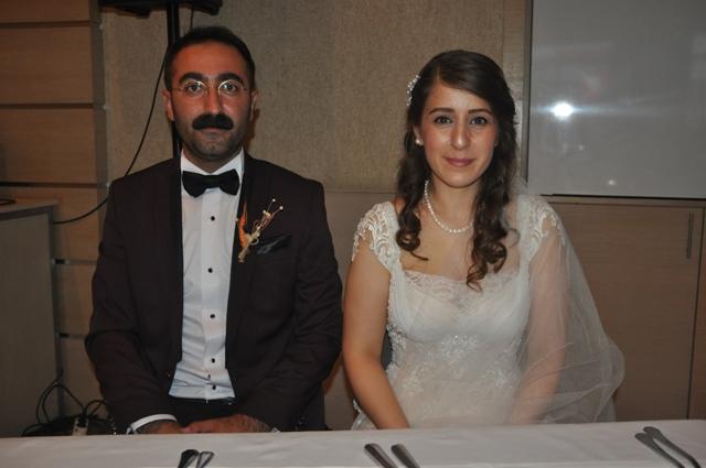 Rojdan ile İrfan evlendi