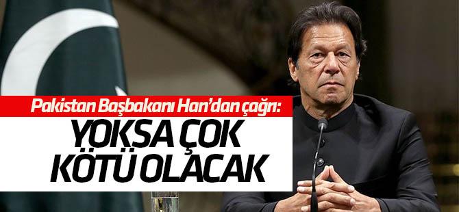 """İmran Khan: """"Cammu Keşmir anlaşmazlığı kötüleşirse tüm dünya acı çekecek"""""""