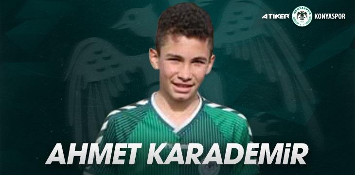 Konyasporlu Ahmet Karademir Milli Takıma çağrıldı
