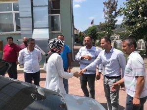 AK Parti Konya Milletvekili Gülay Samancı Beyşehir'de