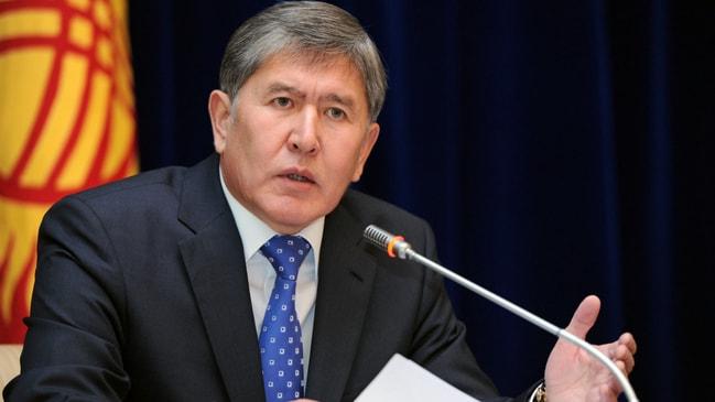 Kırgızistan'da gergin saatler! Atambayev'in evine ikinci kez operasyon!