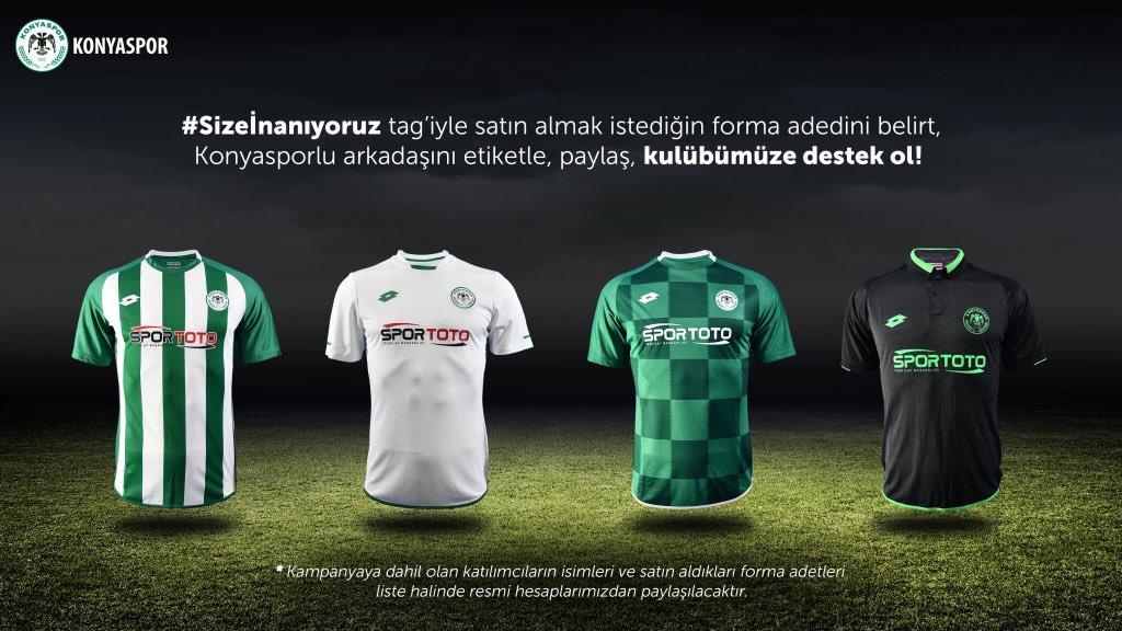 Konyaspor forma kampanyasına ilgi yoğun
