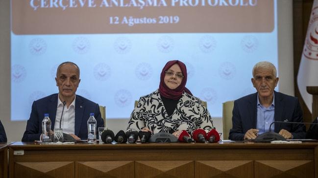 Hükümet ile Türk-İş zam oranlarında anlaştı...