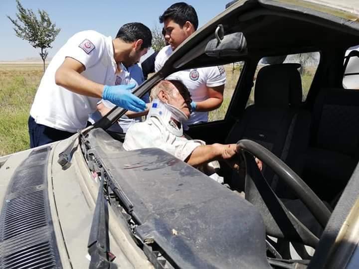 Konya'da feci kaza: 1 kişi ağır yaralı