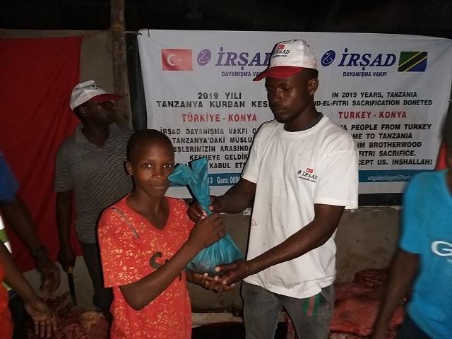 İrşad Vakfı Kurbanda Tanzanya'daydı