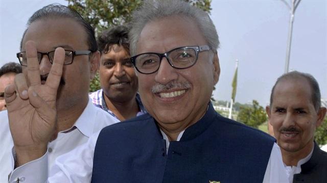 Pakistan Cumhurbaşkanından Hindistan'a sert tepki