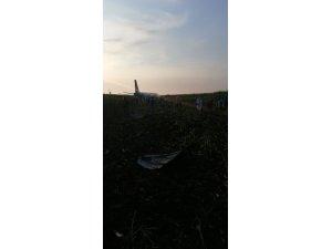 Motorlarına kuş giren Rus uçağı acil iniş yaptı