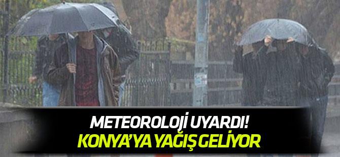 Konya'ya yağış geliyor!