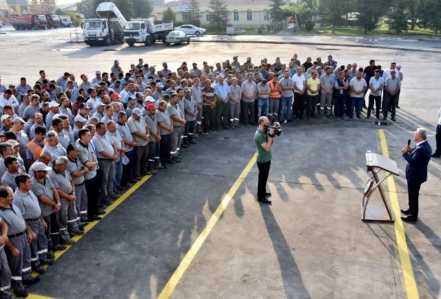 Karatay Belediyesi ailesi bayramlaştı