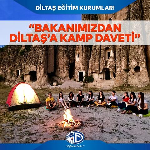 Diltaş'a kamp daveti