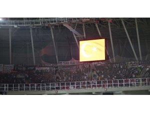 Süper Lig: Sivasspor: 1 - Beşiktaş: 0 (İlk yarı)