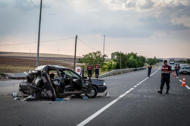 Ankara-Konya kara yolunda kaza: 5 yaralı