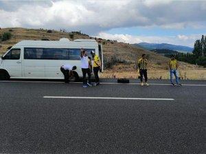 Ankaragücü taraftarının yardımına Konyasporlu taraftarlar koştu