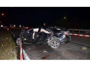 Samsun'da kaza: 1 ölü, 5 yaralı