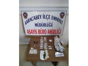 Karacabey'de uyuşturucu operasyonu: 2 tutuklu
