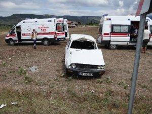 Bilecik'te trafik kazası; 3 kişi yaralandı