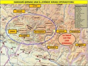 """Terör örgütü PKK'ya """"Kıran Operasyonu"""""""