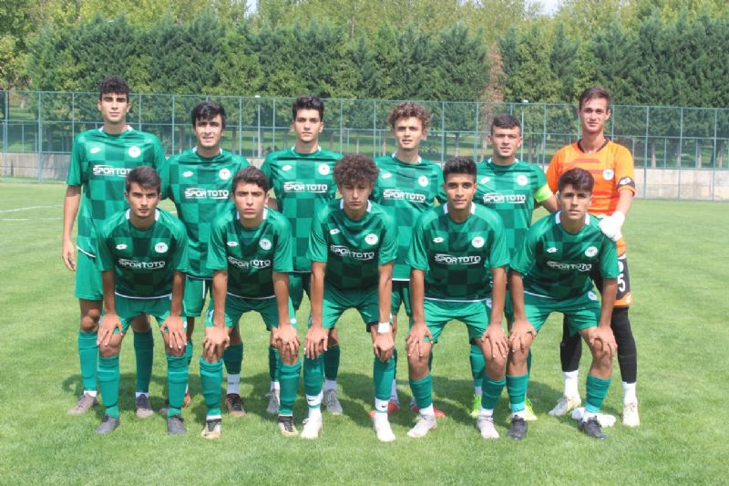 Konyaspor U17'den güzel başlangıç