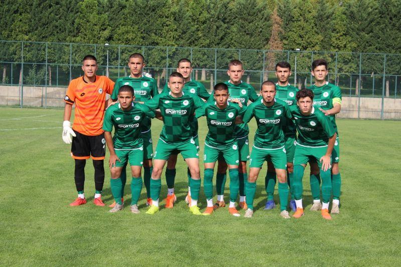 Konyaspor U19 beraberlikle başladı