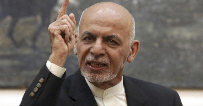 """Afganistan Cumhurbaşkanından """"DEAŞ'tan intikam alma"""" sözü"""