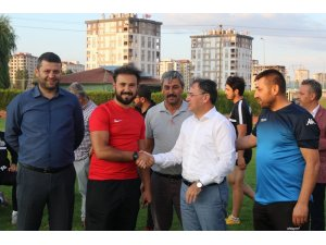 Hacılar Belediye Başkanı Bilal Özdoğan stadyum için müjdeyi verdi