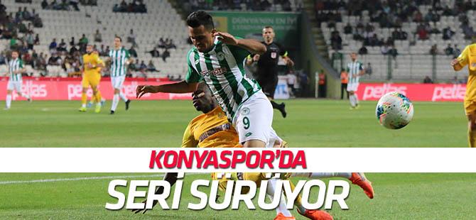 Konyaspor'da beraberlikler devam ediyor