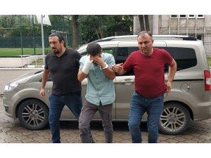 Cezaevi firarisi görüntülü şantajdan gözaltına alındı