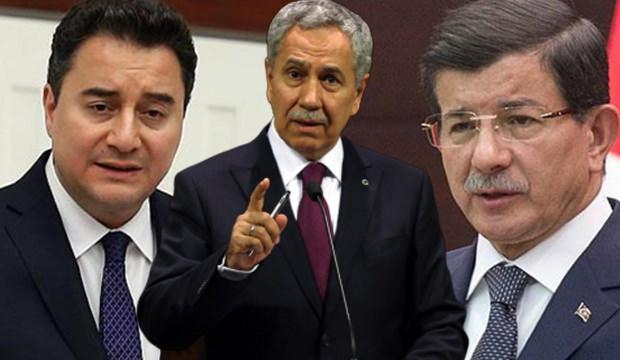 Bülent Arınç, Davutoğlu ve Babacan'ı uyardı!