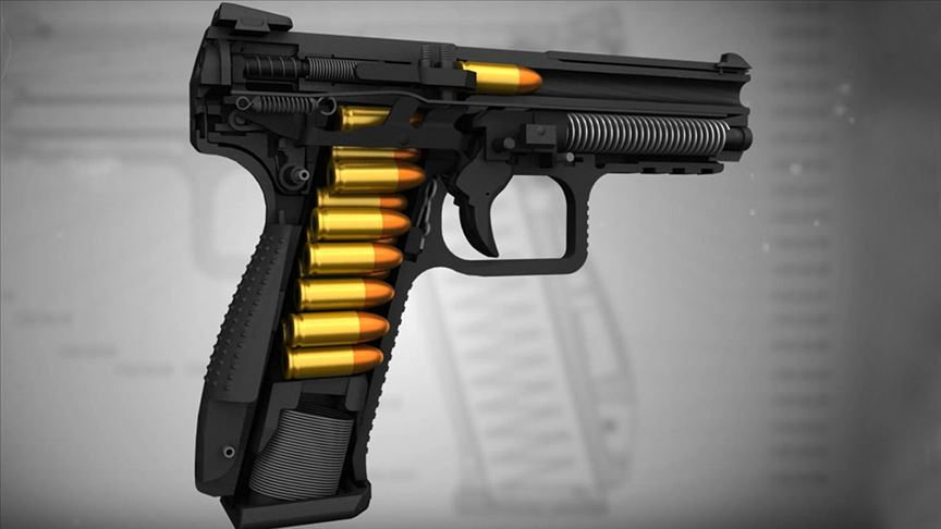 """Yerli tabanca üretiminde """"seri"""" dönem"""