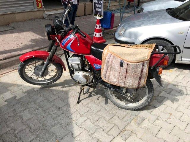 Ruhsatsız motosikletler toplanıyor