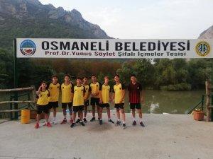 """Osmaneli'nde """"Lefke Cup U15 Futbol Turnuvası"""" başladı"""