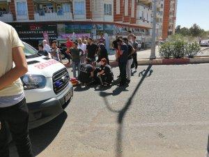 Siirt'te otomobilin çarptığı kadın yaralandı