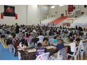 Sivas'ta Uluslararası Satranç Turnuvası devam ediyor