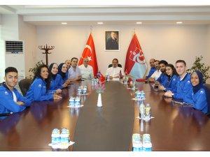 Lübnan Karate Milli Takımı'ndan Trabzonspor'a ziyaret