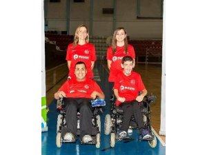 Milli sporcularımız Boccia Avrupa Bölge Şampiyonasına hazır