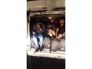 Malkara'da yabancı uyruklu 11 göçmen yakalandı