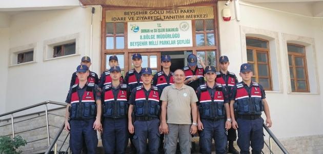 Beyşehir'de jandarma personeli için eğitim semineri