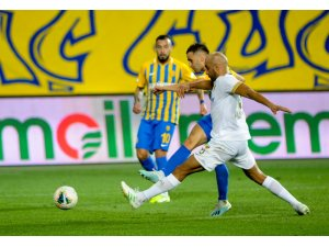 Süper Lig: MKE Ankaragücü: 1 - İstikbal Mobilya Kayserispor: 1 (Maç sonucu)
