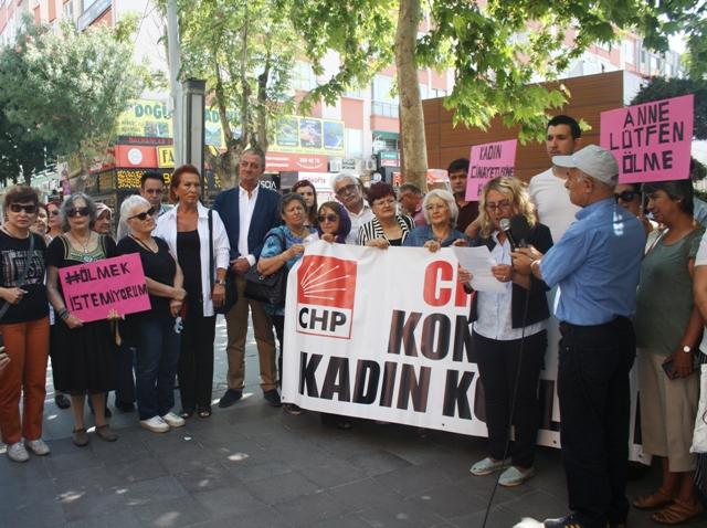Tunç: Emine Bulut'lar ölmesin diye mücadelemiz devam edecek