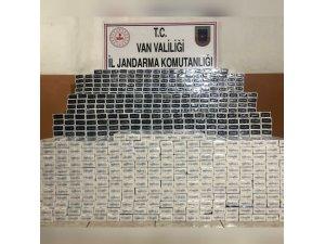 Özalp'ta 14 bin 980 paket kaçak sigara ele geçirildi