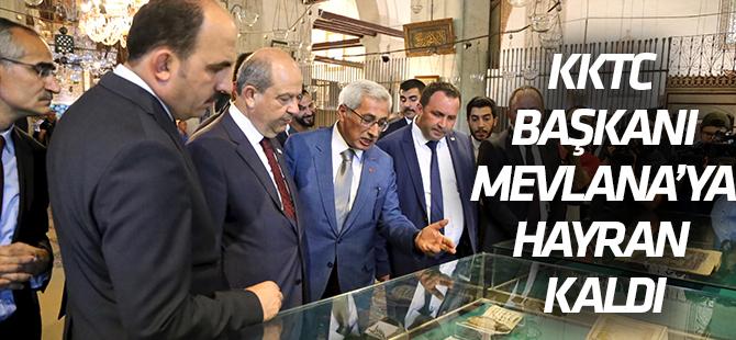 KKTC Başbakanı Ersin Tatar, Mevlana Müzesi'ni ziyaret etti