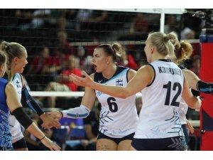2019 Kadınlar Voleybol Avrupa Şampiyonası A Grubu: Yunanistan: 3 - Finlandiya: 1