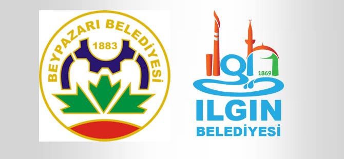 Beypazarı ile Ilgın belediyeleri kardeş belediye oldu