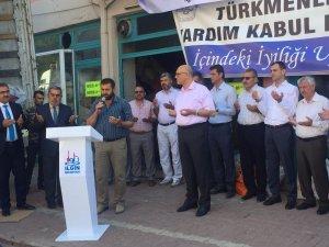 Konya'dan Osmanlı Türkmenlerine yardım tırı