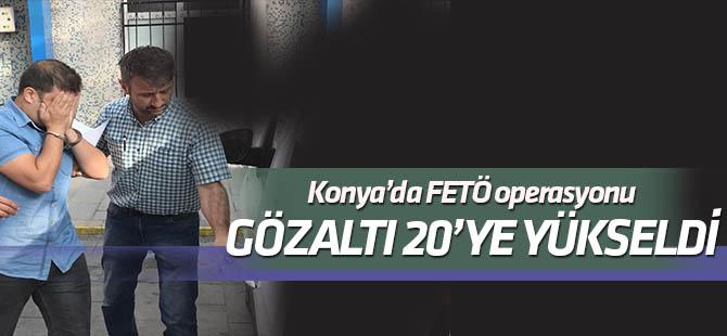"""Konya'da FETÖ'nün """"mahrem imamlarına"""" operasyon: 20'ye yükseldi"""